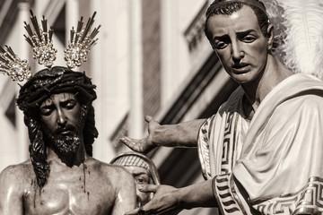 Jesús ante Pilatos, Semana santa de Sevilla, San Benito