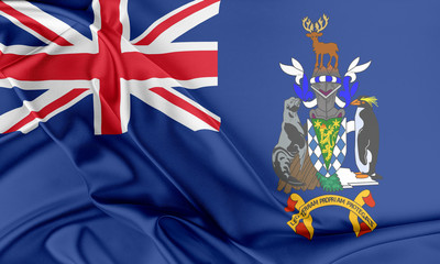 South Georgia and the South Sandwich Islands Flag.