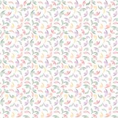 Floral texture. Flower seamless pattern. Flourish background