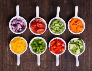 Foto op Plexiglas Groenten vegetables