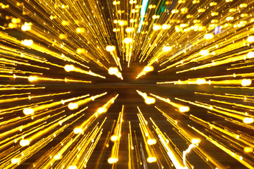 Abstract light technology or Christmas Holiday background
