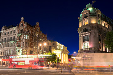Night life at the city of London