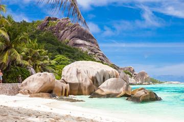 Anse Source d'Argent Strand, La Digue - Seychellen