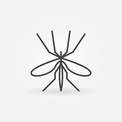 Mosquito icon or logo