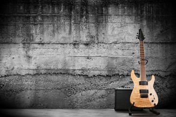 Modern electric guitar