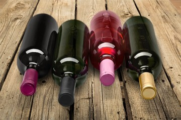 Wine Bottle, Wine, Bottle.