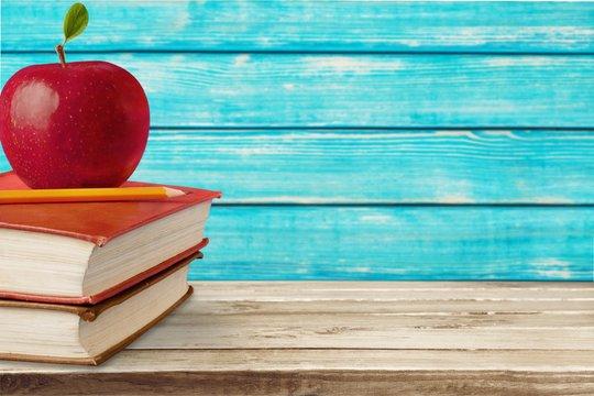 Apple, Education, Book.