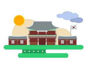 design for  korea palace