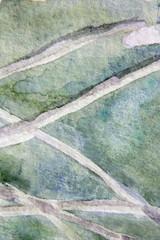 Shades of Green Watercolor 7