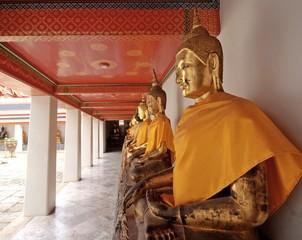 Buddha at Wat Pho or Wat Phra Chetupon Vimolmangklararm