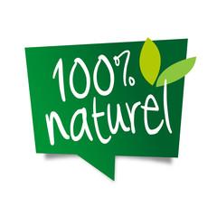 100% naturel / bulle