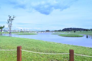 旭川市内の池