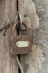 old padlock background