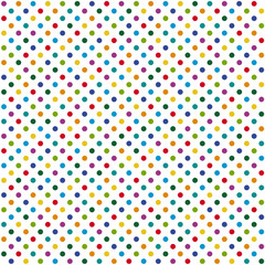 seamless background colored dots