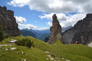 Parco delle Dolomiti Friulane - Campanile di val Montanaia