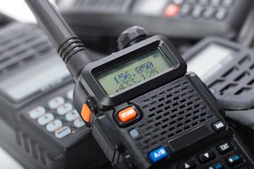 Portable walkie-talkies