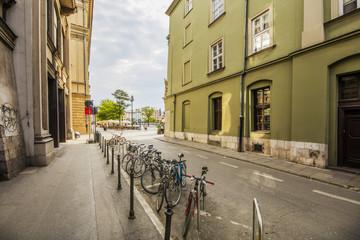 Kraków rowery