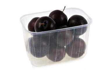 Barquette de prunes