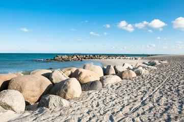 Fototapete - The beach in Skagen