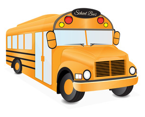 school bus illustration 2