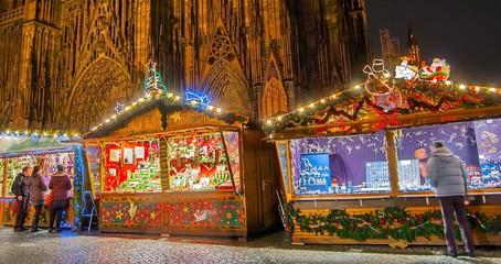 Marché de noël à Strasbourg, Alsace