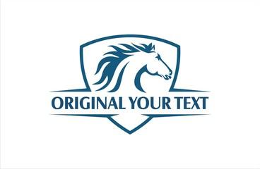 Horse emblem cool