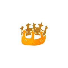 retro cartoon crown