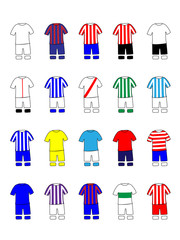 Spanish League Clubs Kits 2013-14 La Liga