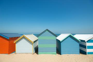 Brighton Beach Boxes, Melbourne, Australia