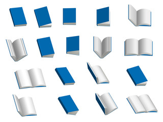 Books 3D Set 1