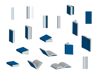 Books 3D Set 2