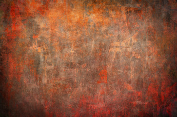 orange grunge background or texture