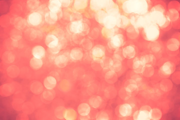 Red bokeh textured  background