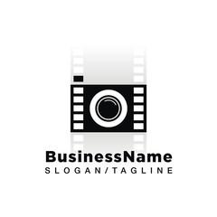Camera vector logo icon