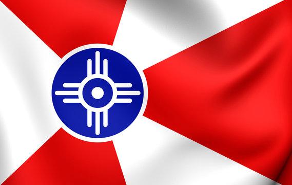 Flag of the Wichita, USA.