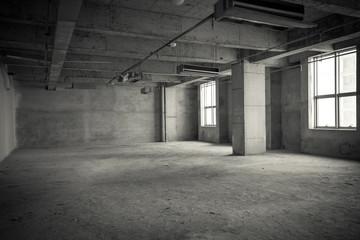 Empty interior space
