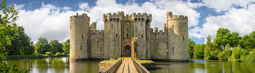 Bodiam Castle in England Wall mural