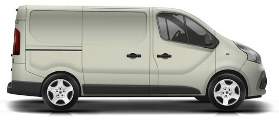 Camionnette new gris foncé