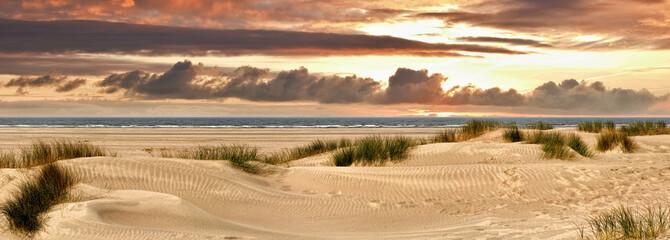 Norderney Dünenpanorama Abend