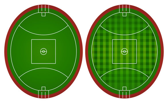 Australian rules football fields