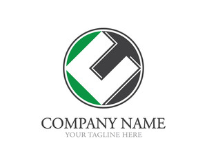 Square C Letter Logo
