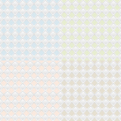 Vector set of four seamless patterns. Repeating geometric tiles