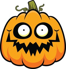 Cartoon Pumpkin Happy