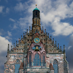 Frauenkirche Nürnberg hochauflösend, freisteller, freigestellt