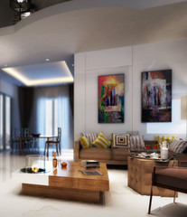 Modern furnishing (detail)