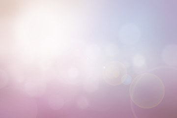 Abstract sweet color blurred background