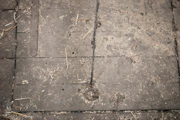 Schmutziger, alter Holzboden, Scheune, Hintergrund