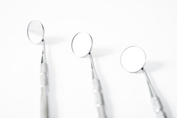 Metal dental medical equipment tools dental mirror