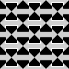 seamless geometric arrow pattern