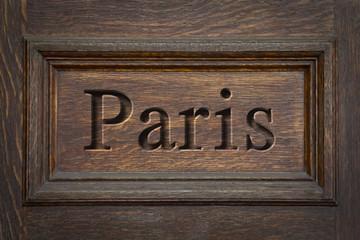Engraved City Paris